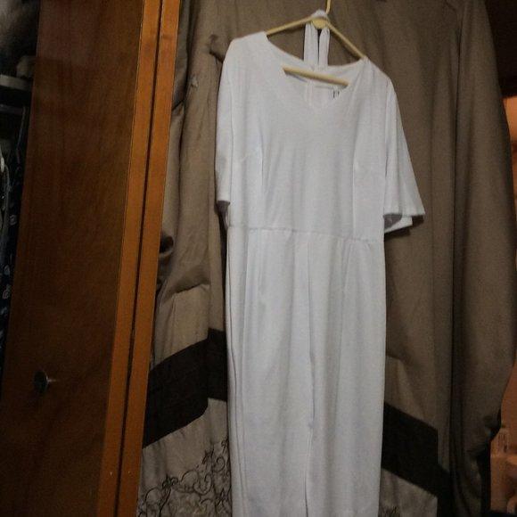 Pure White-Dress